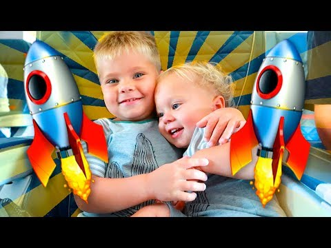KIDS TRAPPED IN AN AIRPLANE!