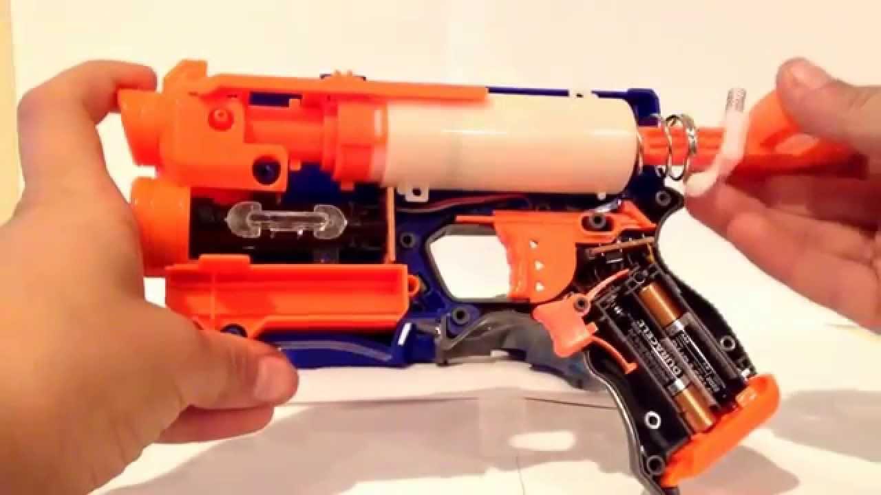 how to take apart a nerf retaliator