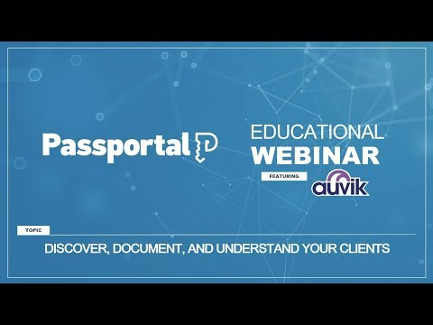 Discover, Document & Understand Your Clients