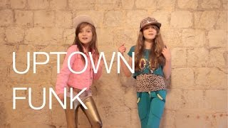 Mark Ronson - Uptown Funk Ft. Bruno Mars Cover By 11 Year Old Sapphire And 9 Year Old Skye