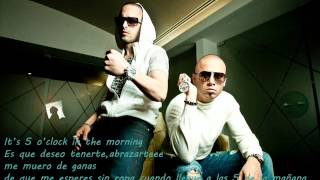 Wisin & Yandel ft T Pain - 5 O`Clock letra