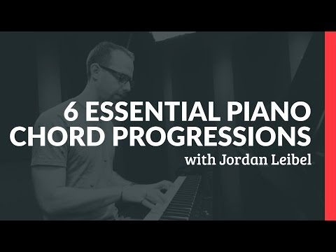 6 Essential Piano Chord Progressions - Piano Lessons (Pianote)