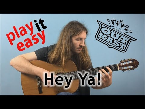 Hey Ya! - Play It Easy - Outkast fingerstyle guitar cover tabs sheet music