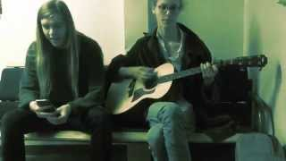 Demon Flames - Well of Salvation - acoustic cover by Leonardo Holm and Olof Källström