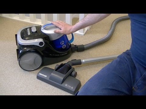Hoover Blaze SP81BL11001 Bagless Cylinder Vacuum Cleaner Unboxing & First Look