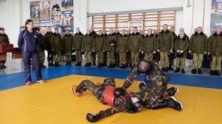 Учеба во внутренних войсках