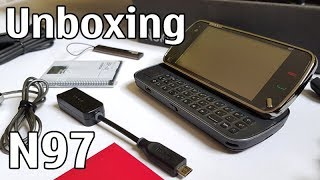 Nokia N97 Unboxing 4K with all original accessories Nseries RM-505 review