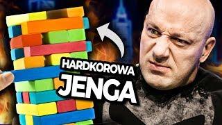HARDKOROWA JENGA z ROBERTEM BURNEIKĄ!