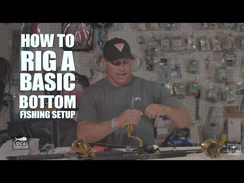 Rigging A Basic Snapper Or Bottom Fishing Setup | Captain Rush Explains!