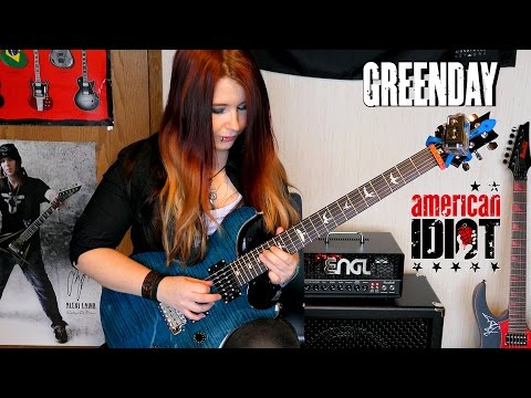 GREEN DAY - American Idiot [GUITAR COVER] | Jassy J