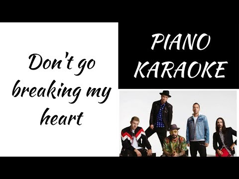 Don't go breaking my heart - Backstreet Boys - KARAOKE