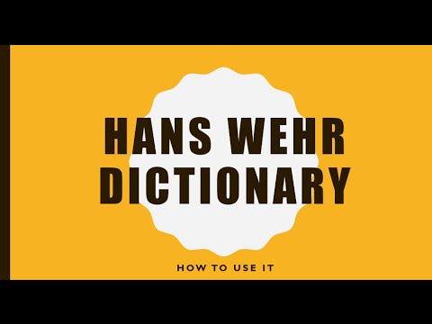 Story 2 Class 6 - How to use Hans Wehr Dictionary | Free Arabic through Stories