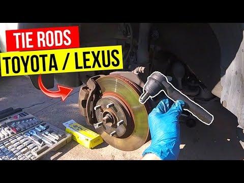 How To Replace Tie Rod Ends Toyota / Lexus -Jonny DIY