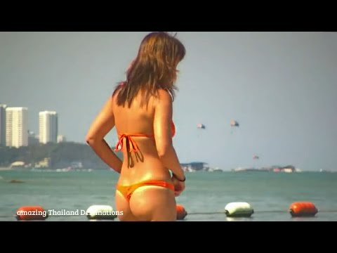 Pattaya Beach: Thailand Famous Beach of Pattaya Compilation