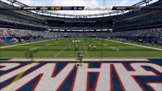 Madden NFL 25 - New Orleans Saints vs. New York Giants Gameplay [HD]