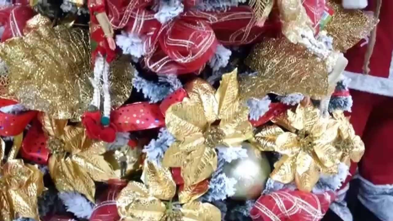 Varias ideas para decorar arbol de navidad decorados con - Arboles de navidad ...