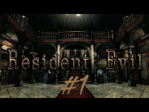 Resident Evil 1 HD First Time #1 (no spoilers plsss)