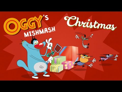 Oggy's Mishmash - Christmas- Oggy & The Cockroaches Special!