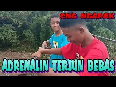 Adrenalin Terjun Bebas||#film Pendek CRINCHUT NGAPAK