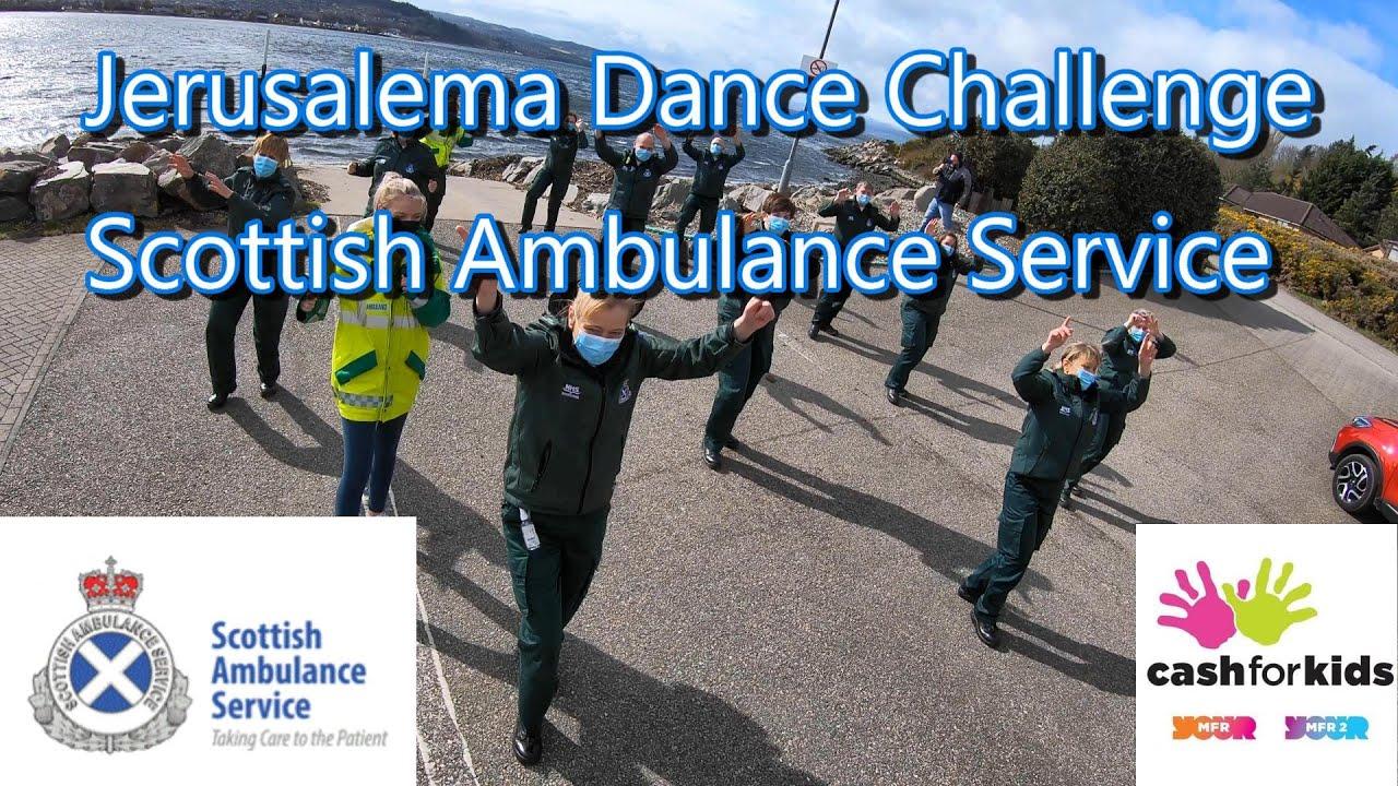 Jerusalema Dance Challenge Scottish Ambulance Service North Division