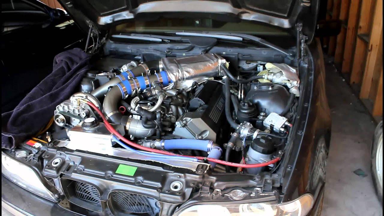 Supercharged E39 540i 6 V8 Before Bi Turbo Install Aka