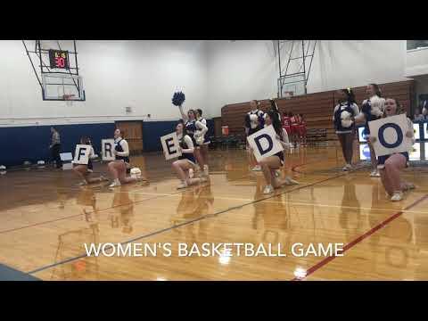2019 Fredonia Blue Devil Cheerleading Video