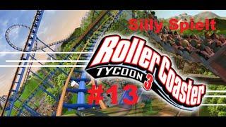 RollerCoaster Tycoon 3: Folge 13 - Achterbahn verschönert und umbau arbeiten!!!