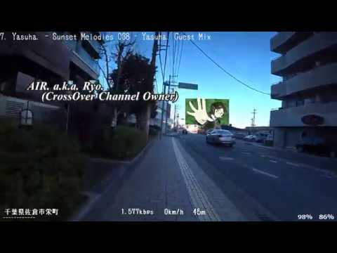 【Broadcasting】 Chiba - Tokyo Nigth City Cycling 30【SONY HDR-AS300】