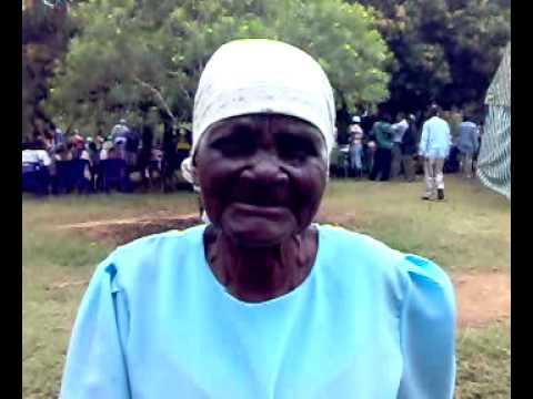 Ugunja: Funeral a moment to share