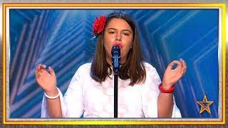 ¡Tiene 18 años y una voz privilegiada para la ópera! | Audiciones 5 | Got Talent España 2019