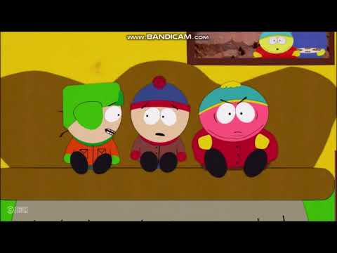 South Park Cartman gets very angry