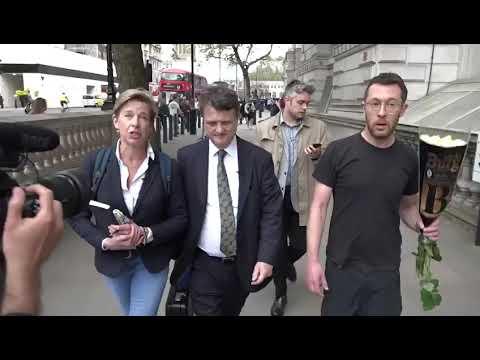 Katie Hopkins and Gerard Batten call out 'extinction rebellion' activist