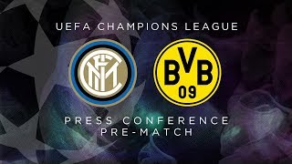 INTER vs BORUSSIA DORTMUND | LIVE | Pre-Match Press Conference Conte + Brozovic [SUB ENG]
