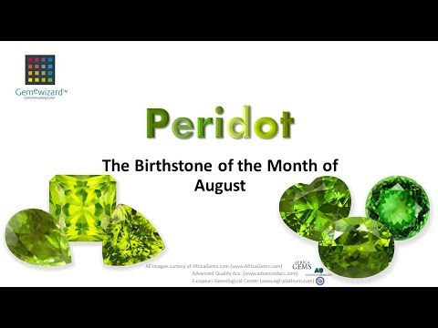 GemeBlog Video: Peridot - The Birthstone Of The Month Of August