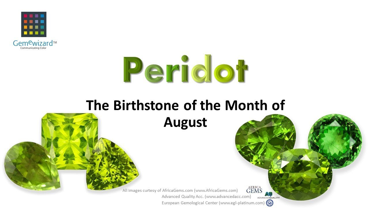 Gemeblog Video Peridot The Birthstone Of The Month Of August