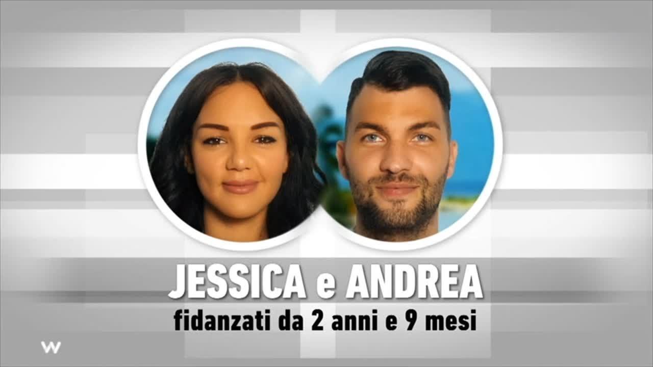 Temptation Island 2019 - Jessica e Andrea si presentano