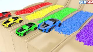 Learning Colors with Toy Cars