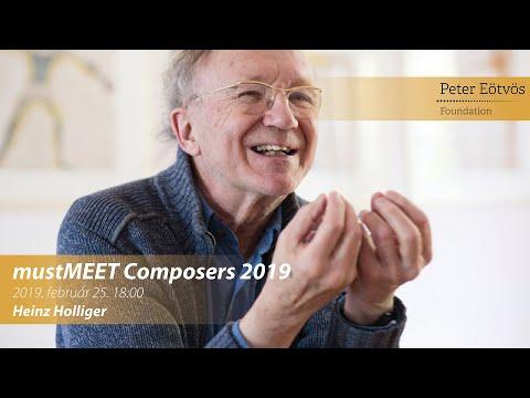 Heinz Holliger  - mustMEET Composers 2019