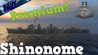 World of Warships Gameplay ITA - SHINONOME - RANKED BATTLES SPRINT 2 ( -RN- DUO)