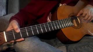 Skyrim на гитаре (скоро разбор)