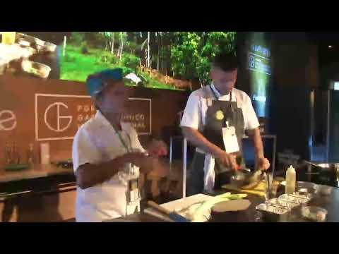 Foro Gastronómico Internacional 2017 · Chef Jennifer Rodríguez · Demo de cocina