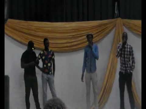 Dj Figo talking to Audience in Afri-Dzonga Music Awards Ceremony