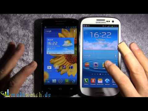 Huawei Ascend D1 Quad XL: First Impression and Comparison to the Samsung Galaxy S III