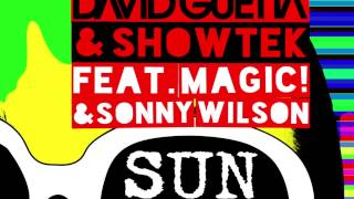 David Guetta & Showtek - Sun Goes Down ft. MAGIC! & Sonny Wilson (Eva Shaw Remix)