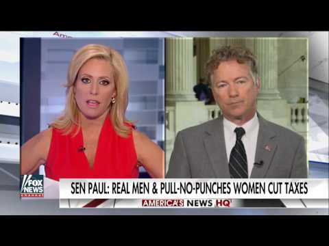 Rand Paul on Donald Trump's Tax Plan