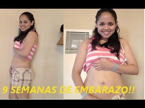 9 semanas de embarazo 2 meses de embarazo 9 weeks of pregnancy youtube - 8 meses de embarazo ...