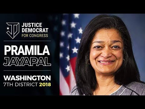Pramila Jayapal Joins Justice Democrats!