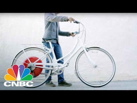 This Robotic Bike Wheel Will Disrupt The Urban Commute | CNBC