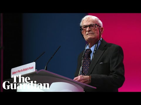 'We must never let the NHS free from our grasp': Harry Leslie Smith's powerful 2014 speech