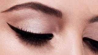 Perfect Winged Eyeliner tutorial (the EASIEST method) thumbnail